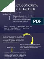 LA MÚSICA CONCRETA  PIERRE Y SCHAEFFER