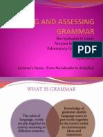 What is Grammar