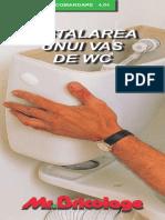 Instalarea Unui Vas de Wc