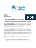 Colorado HealthOP Encourages Colorado's Moms to Get Covered