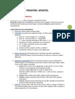 Apuntes Pediatria 1 y 2.