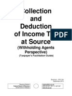 Collection & Deduction of Income Tax (Pakistan)