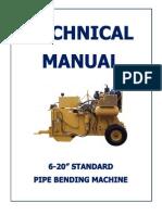 Pipe Bending Machine Manual Small
