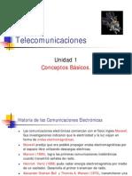 Telecomunicaciones Unidad 1