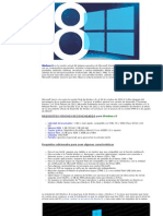 Manual de Instalación de Windows 8