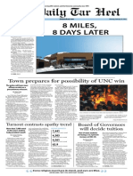 The Daily Tar Heel for February 20, 2014