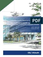 Georgia Regents University Columbia County Hospital Proposal