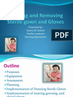 Donning and Removing Sterile Gloves