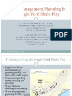 Water Management Planning in the Eagle Ford Shale Play (2011)