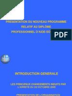 Programme Des Aides Soignants