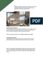 Prinsip-prinsip Ruang Dalam Arsitektur