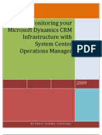 SCOM in a Dynamics CRM Architecture