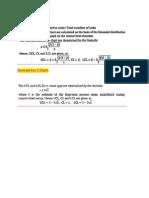 P chart formula