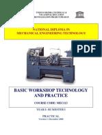 Mec 113 Basic Workshop Technology 1
