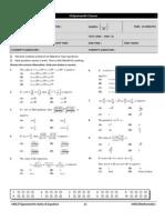 Jee 2014 Booklet1 Hwt Trigo Ratio & Equation