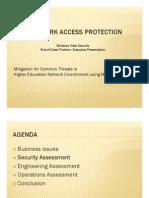 NAP Vista Security Team Project