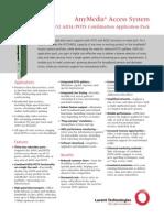 AnyMedia LPA832 ADSL-POTS Combination Application Pack Brochure[1]