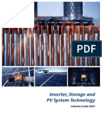 Inverter, Storage and PV System Technology Industry Guide 2013
