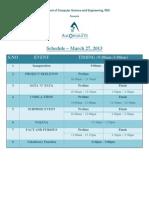 Automata13 Schedule