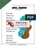 1st Apple Poem