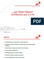 Basic RAN Architecture and O&M
