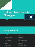 Cultural Tolerance