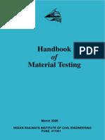 Railway Handbook of Material Testing 1