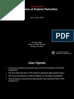 journal Prevention of Preterm Parturition ppt