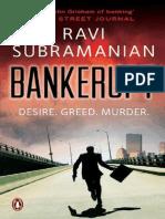 Bankerupt - Subramanian Ravi