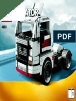 LEGO 4993 Creator Truck Bauanleitung Teil 1.pdf