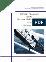 ENGLISH GRAMMAR FOR MARINE ACADEMY