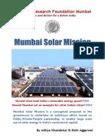 Mumbai Solar Mission