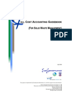 Full Cost Accounting Guidebook Solid Waste Mgmt