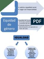 Equidad e igualdad presentación de equipo