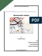 Pharmaceutical industry of Pakistan