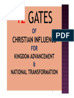 Intro_12 Gates of Influence Conference @ Clearwater Ministries_2013_part 1 of 13