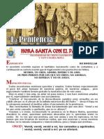 HORA SANTA CON EL PAPA. EL SACRAMENTO DE LA PENITENCIA
