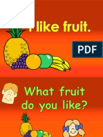 Fruits Lesson