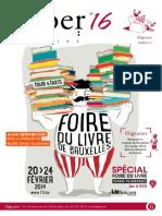 Magazine Filiber de la Foire du Livre 2014 - Filiber 16