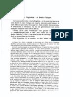 Cavallera - 1905 - Le « De virginitate » de Basil