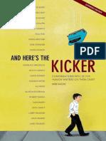And Here's the Kicker_ Conversa - Mike Sacks