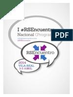 Programa RSEncuentro 2014