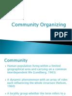 Community Organizing I