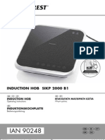 Silvercrest SIKP 2000 B1 επαγωγική εστία Induction Hob.pdf