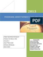 Group 3 - Freemark Abbey Winery Case Analysis