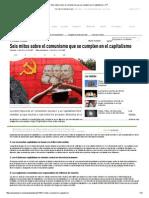 Seis mitos sobre el comunismo que se cumplen en el capitalismo – RT