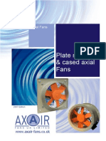 Axair Fans - Plate & Cased Axials 2007