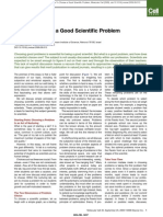 [3] How to Choose a Good Scientific Problem