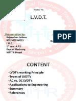 jason hart ppt engineering mechanical engineering lvdt
