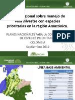 Especies Prioritarias Amazonas